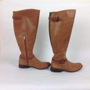 Jessica Simpson Women's Rinne Riding Brown Boots